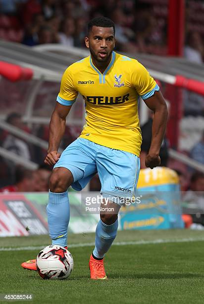 Adrian Mariappa of Crystal Palace in action during the Pre Season Friendly match between Brentford and Crystal Palace at Griffin Park on August 2...