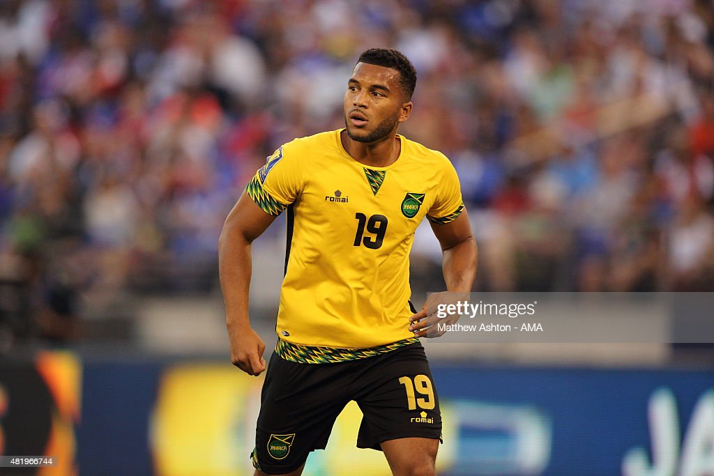 Haiti v Jamaica: Quarterfinals - 2015 CONCACAF Gold Cup : News Photo