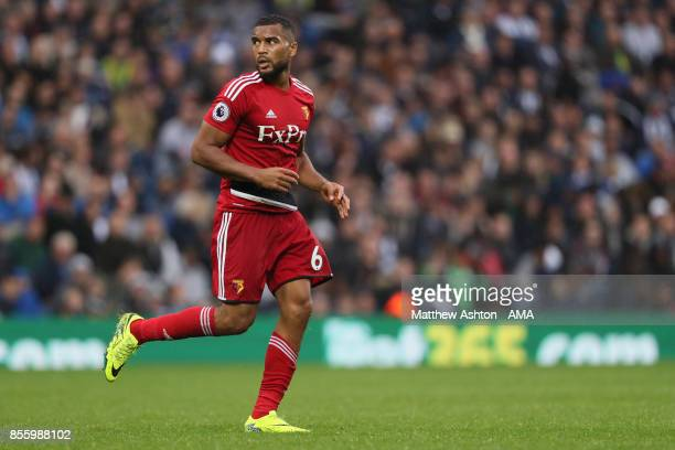Adrian Mariappa of Watford during the Premier League match between West Bromwich Albion and Watford at The Hawthorns on September 30 2017 in West...