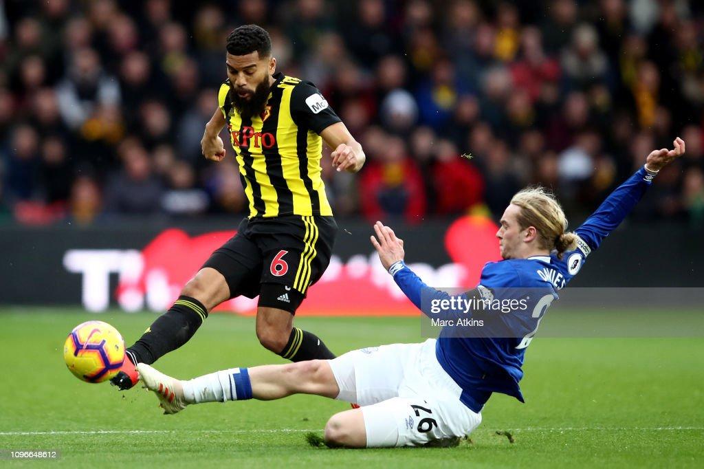 GBR: Watford FC v Everton FC - Premier League