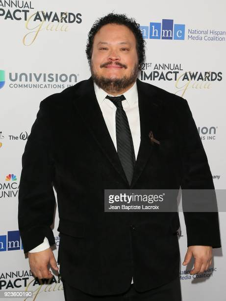 Adrian Martinez attends the 21th Annual National Hispanic Media Coalition Impact Awards Gala on February 23 2018 in Beverly Hills California
