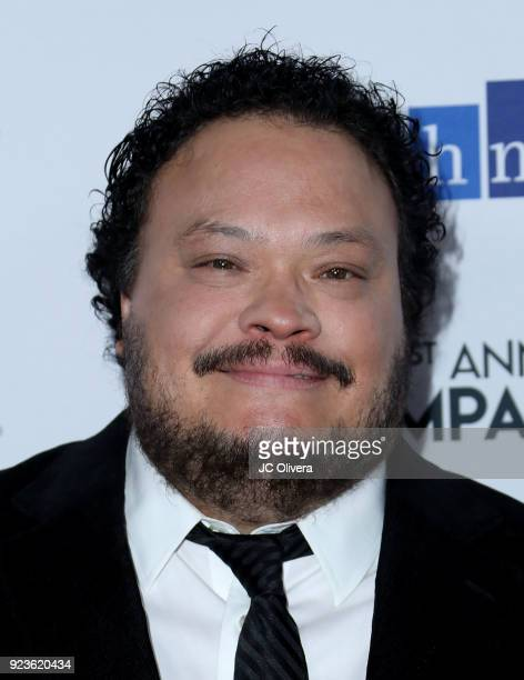 Adrian Martinez attends the 21th Annual National Hispanic Media Coalition Impact Awards Gala at Regent Beverly Wilshire Hotel on February 23 2018 in...