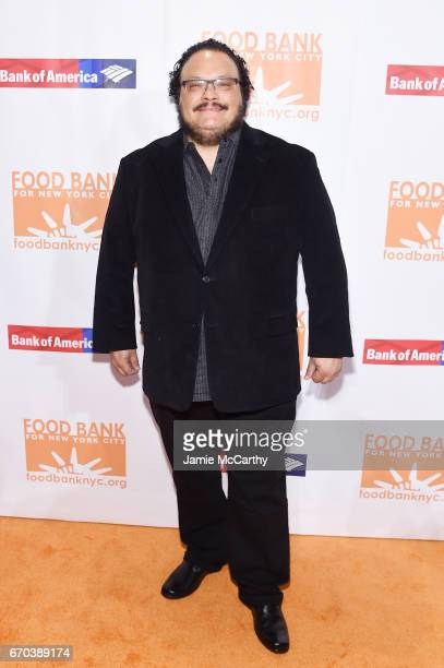 Adrian Martinez attends the Food Bank for New York City CanDo Awards Dinner 2017 on April 19 2017 in New York City