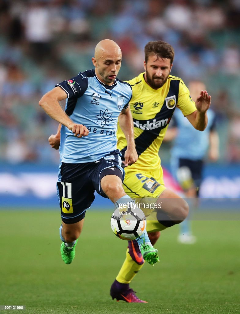 A-League Rd 17 - Sydney v Central Coast