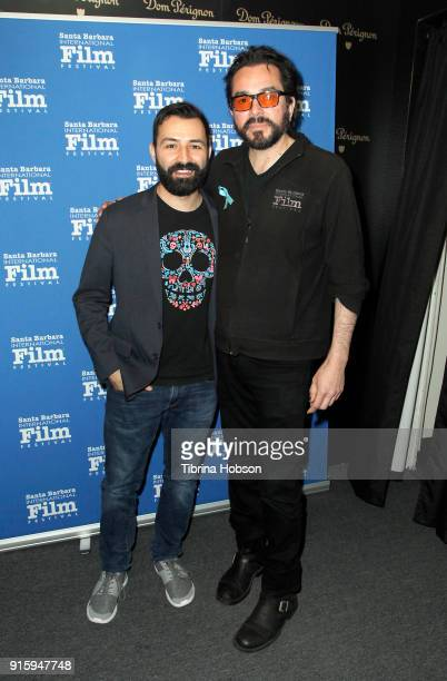 Adrian Molina and Roger Durling attend the screening and QA of 'Coco' at the 33rd annual Santa Barbara International Film Festival at Arlington...