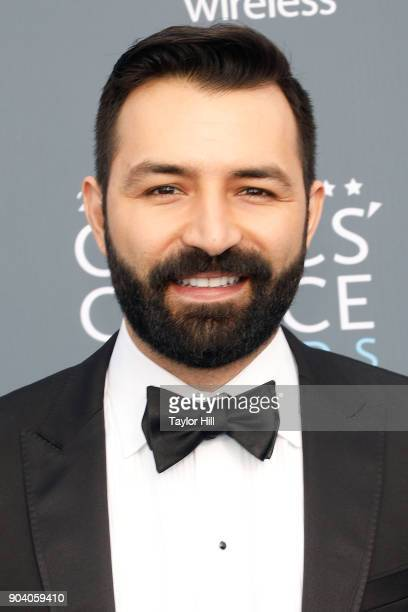 Adrian Molina attends the 23rd Annual Critics' Choice Awards at Barker Hangar on January 11 2018 in Santa Monica California