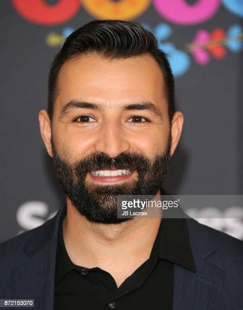 Adrian Molina attends the premiere of Disney Pixar's 'Coco' on November 8 2017 in Los Angeles California