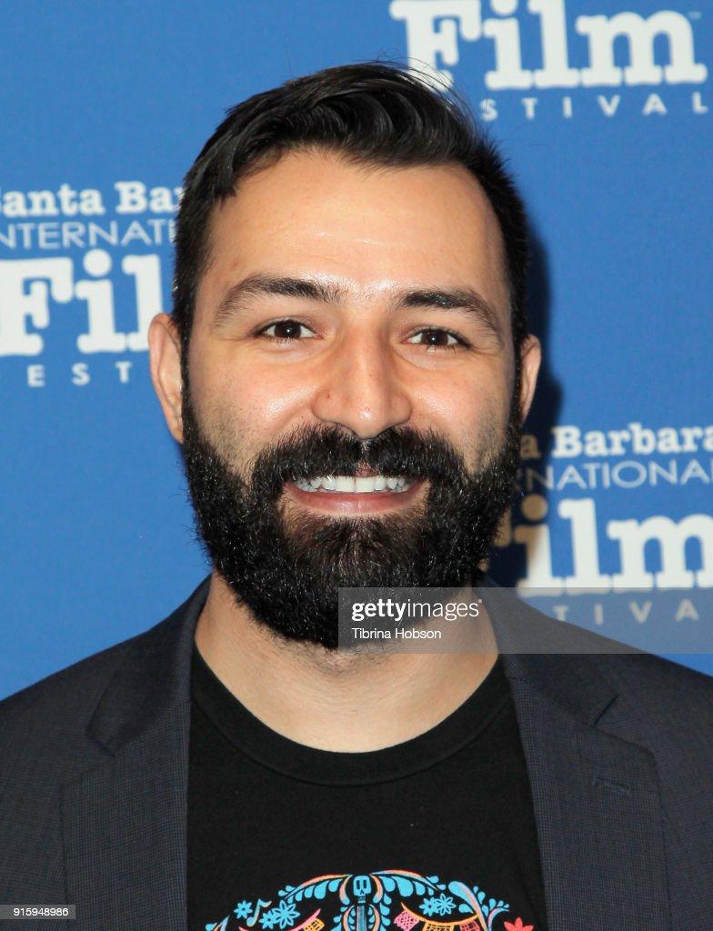 Adrian Molina attends the screening and Q&A of 'Coco' at the 33rd annual Santa Barbara International Film Festival at Arlington Theatre on February 8, 2018 in Santa Barbara, California.