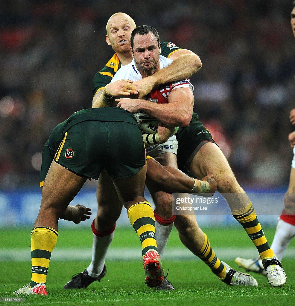 England v Australia - Four Nations