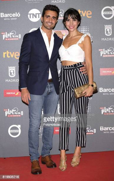 Adrian Nunez and Alicia Fernandez attend the 2017 Platino Awards Welcome Party at Callao Cinema on July 20 2017 in Madrid Spain