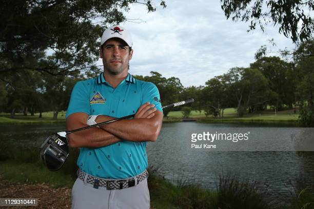 Adrian Oteagui of Spain poses during the ProAm of the ISPS Handa World Super 6 Perth at Lake Karrinyup Country Club on February 13 2019 in Perth...