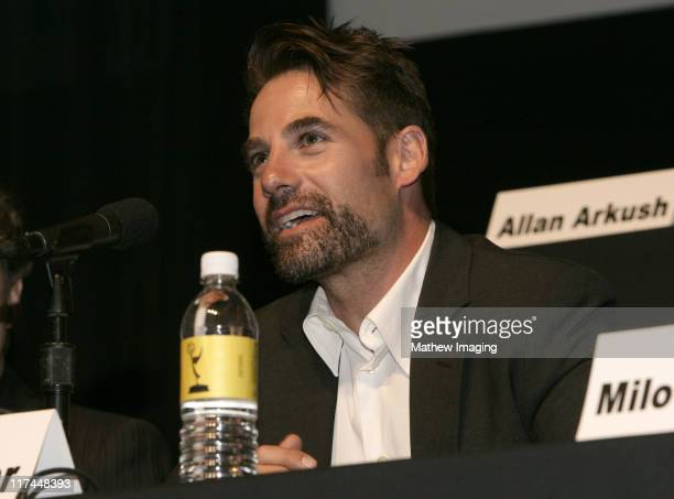 Adrian Pasdar during The Academy of Television Arts and Sciences Presents An Evening with 'Heroes' Inside at Leonard H Goldenson Theatre in North...