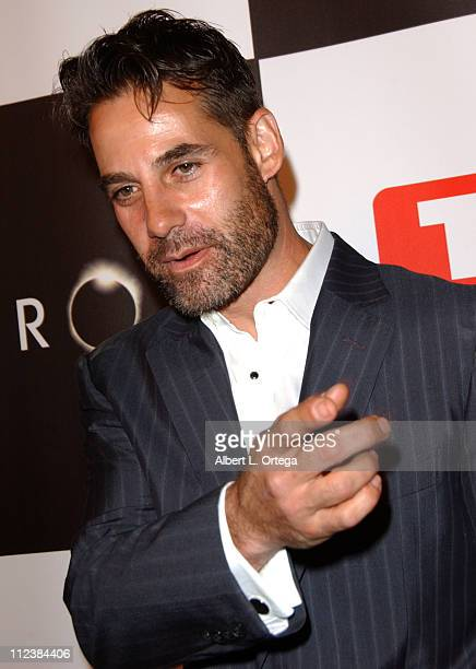 Adrian Pasdar during Wrap Party for NBC's 'Heroes' Arrivals at Cabana Club in Hollywood California United States