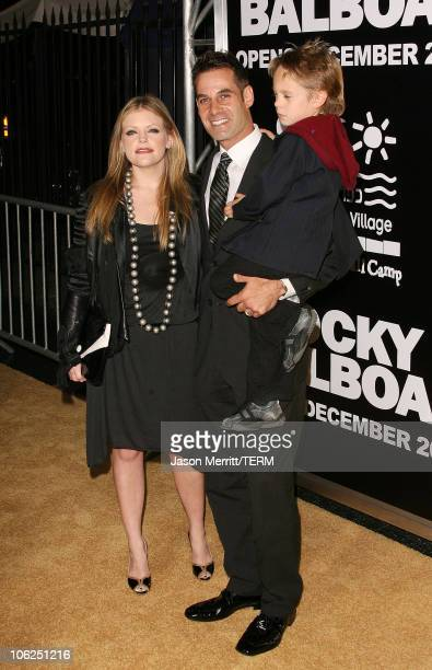 Adrian Pasdar wife Natalie Maines and son Jackson Slade Pasdar