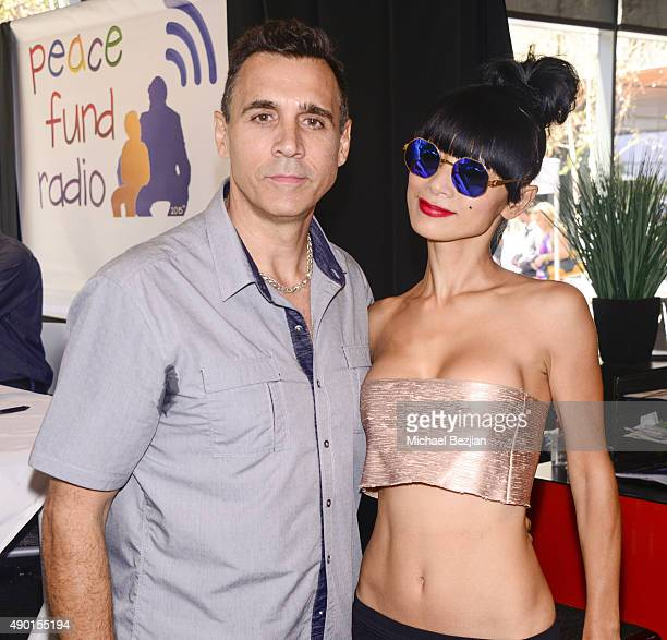 Adrian Paul and Bai Ling attend The 2nd Annual The Peace Fund Celebrity Poker Tournament on September 26 2015 in Playa Vista California