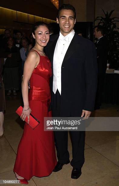 Adrian Paul and guest during 53rd Annual ACE Eddie awards at Beverly Hilton Hotel in Beverly Hills California United States