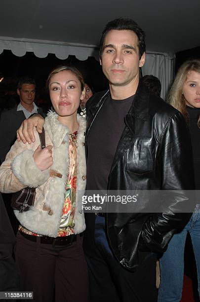 Adrian Paul and guest during Cannes Film Festival 2005 'The Last Drop' Premiere After Party at VIP Room Palm Beach in Cannes France