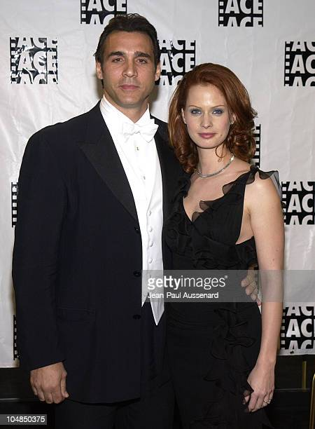 Adrian Paul and Kata Dobo during 53rd Annual ACE Eddie awards at Beverly Hilton Hotel in Beverly Hills California United States