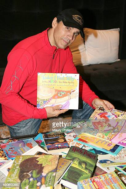 Adrian Paul attends a Celebrity Poker/Book Drive event benefiting pashtun children In KPK North Pakistan on November 15 2013 in West Hollywood...
