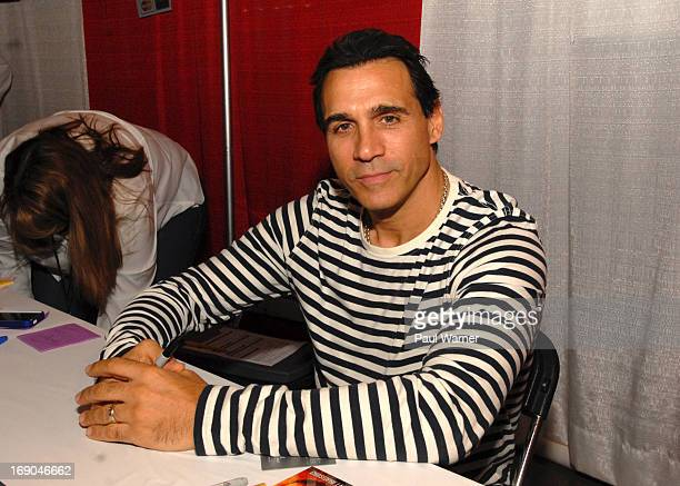 Adrian Paul attends Motor City Comic Con at Suburban Collection Showplace on May 18 2013 in Novi Michigan