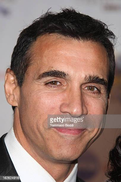 Adrian Paul attends the 23rd annual Night Of 100 Stars black tie dinner viewing gala held at the Beverly Hills Hotel on February 24 2013 in Beverly...