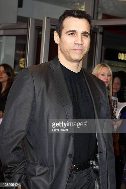 Adrian Paul attends the world Premiere of 'The Heavy' at Odeon West End on April 15 2010 in London England