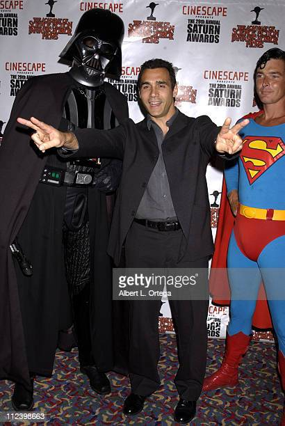 Adrian Paul during The 29th Annual Saturn Awards By The Academy Of Science Fiction Fantasy And Horror Arrivals at Renaissance Hotel in Hollywood...