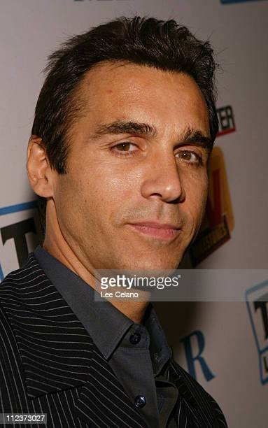 Adrian Paul during The Hollywood Reporter and Museum of Television and Radio TV Milestones Cocktail Reception Arrivals at The Museum of Television...