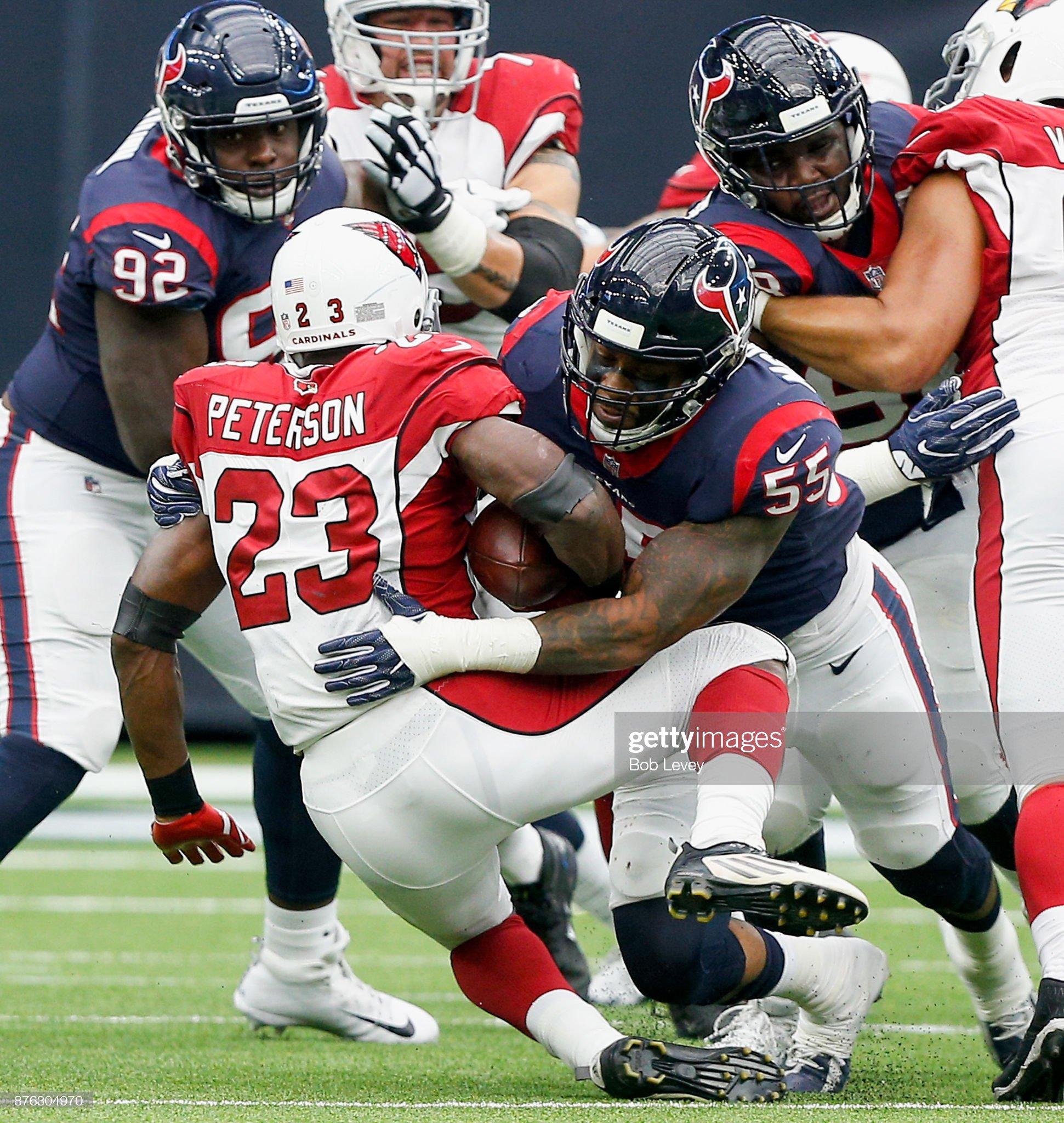 Arizona Cardinals v Houston Texans : News Photo