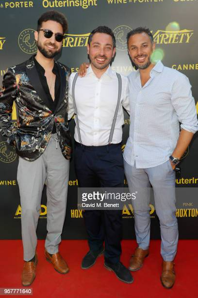 Adrian Politowski and guests attend as WIFT International with Variety Alliance of Women Directors host a cocktail party during the 71st Cannes Film...