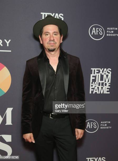 Adrian Quesada attends the Austin Film Society's 20th annual Texas Film Awards at Creative Media Center at Austin Studios on March 12 2020 in Austin...