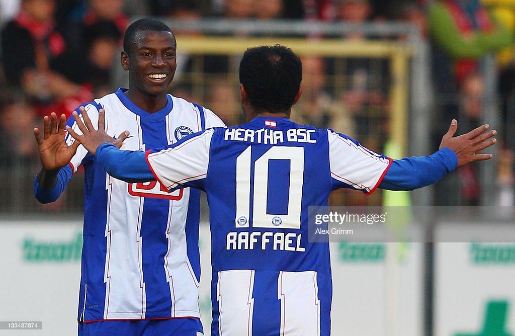 SC Freiburg v Hertha BSC Berlin  - Bundesliga
