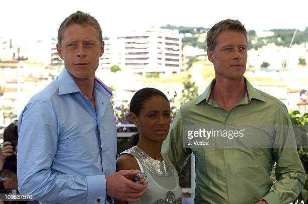 Adrian Rayment Jada Pinkett Smith and Neil Rayment