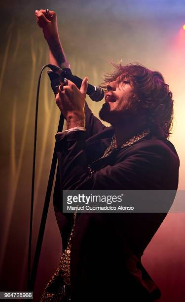 Adrian Roma of Marlon performs in concert at Sala Rock City on May 31 2018 in Valencia Spain