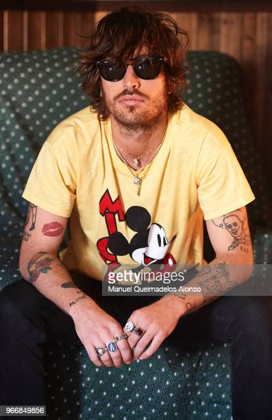 Adrian Roma of Marlon poses for a portrait at Sala Rock City on May 31 2018 in Valencia Spain