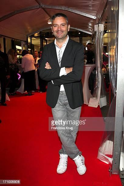 Adrian Runhof Bei Der Präsentation Der Herbst-Winter-Kollektion Von Mcm Bei Vogues Fashion'S Night Out In Berlin