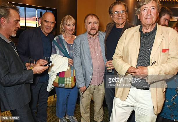 Adrian Schiller guest Gemma Jones Brian Cox Oliver Cotton and Philip Jackson attend the UK Premiere of The Carer at the Regent Street Cinema on...