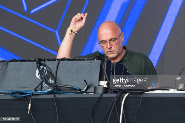 Adrian Sherwood of Sherwood And Pinch performs at the House of Common Festival at Clapham Common on August 28 2017 in London England