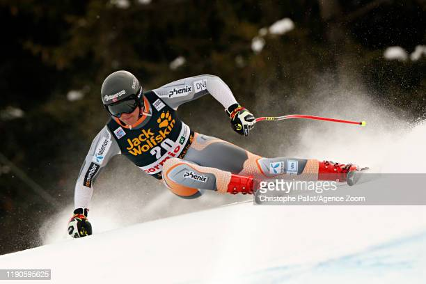 Adrian Smiseth Sejersted of Norway in action during the Audi FIS Alpine Ski World Cup Men's Downhill on December 27, 2019 in Bormio Italy.