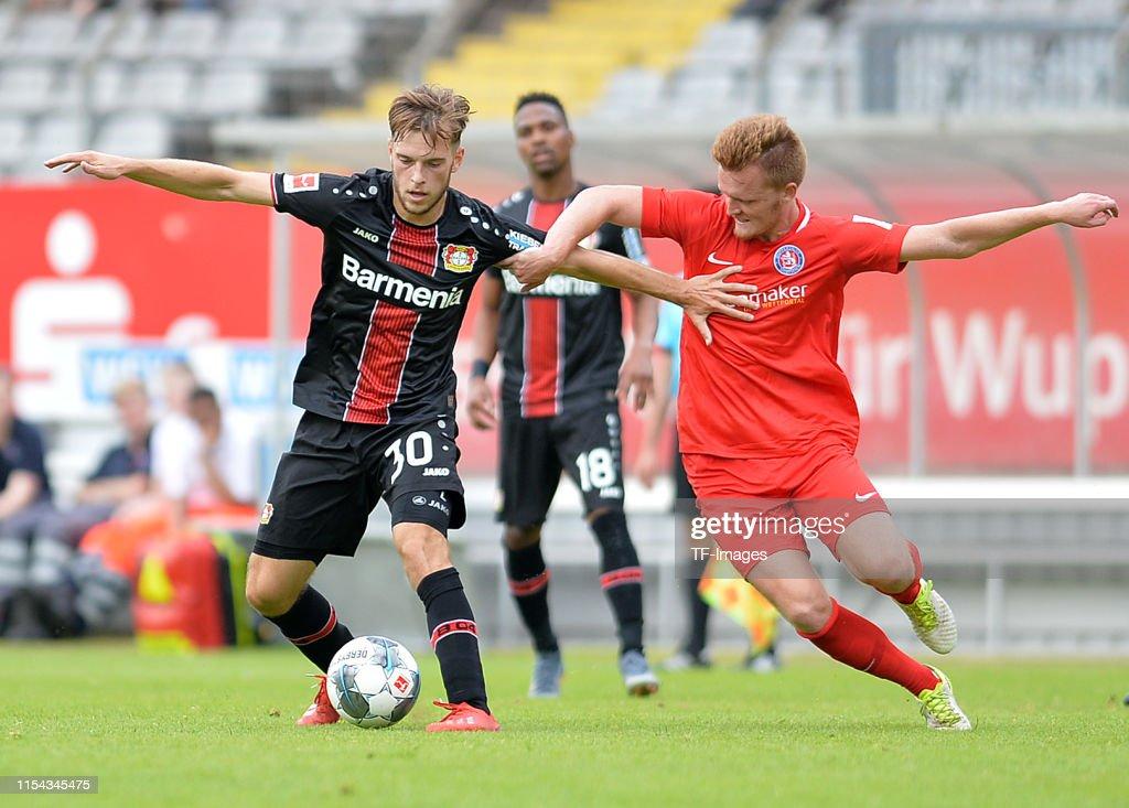 Wuppertaler SV v Bayer 04 Leverkusen - Pre-Season Friendly : Nachrichtenfoto