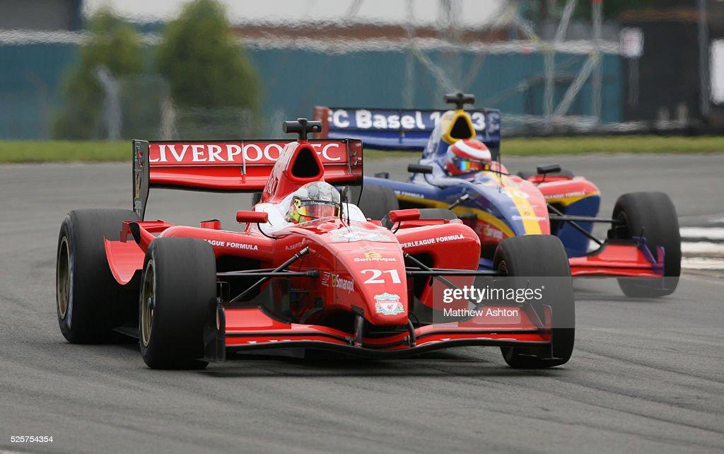 Motor Sports - Superleague Formula Championship - Donington Park : News Photo