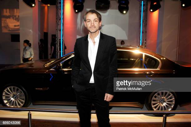 Adrian Van Hooydonk attends VOGUE and BMW party to celebrate the new 2009 BMW 7 Series with Free Arts NYC at 122 West 26th Street on February 12 2009...