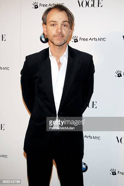 adrian van hooydonk attends vogue and bmw party to. Black Bedroom Furniture Sets. Home Design Ideas