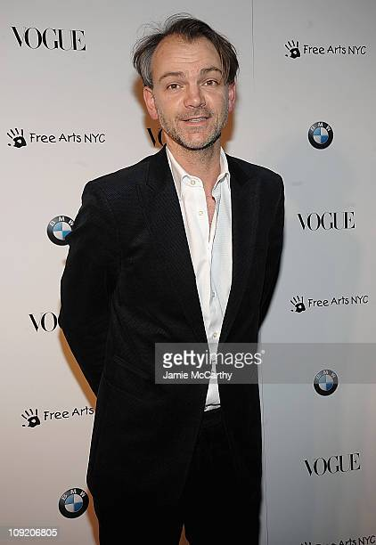 Adrian Van HooydonkBMW design chief attends the All New 2009 BMW 7 Series celebration by Vogue and BMW at a Private Space on February 12 2009 in New...