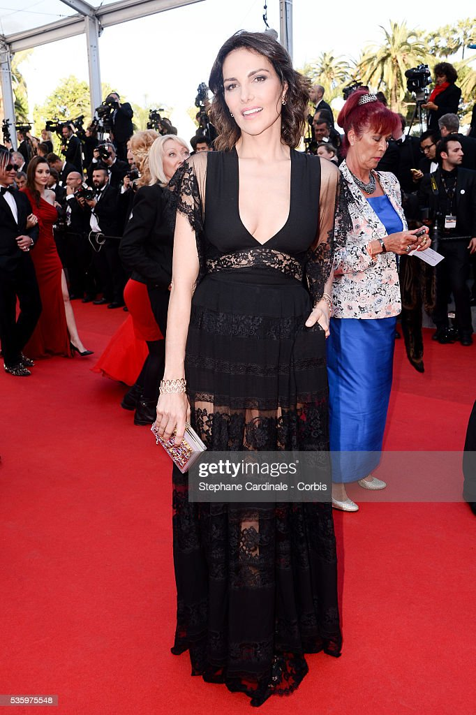 Adriana Abascal at the 'Clouds Of Sils Maria' Premiere at the 67th Annual Cannes Film Festival