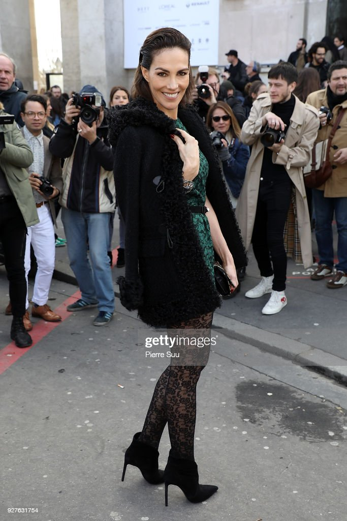Adriana Abascal attends the Giambattista Valli show as part of the Paris Fashion Week Womenswear Fall/Winter 2018/2019 on March 5, 2018 in Paris, France.