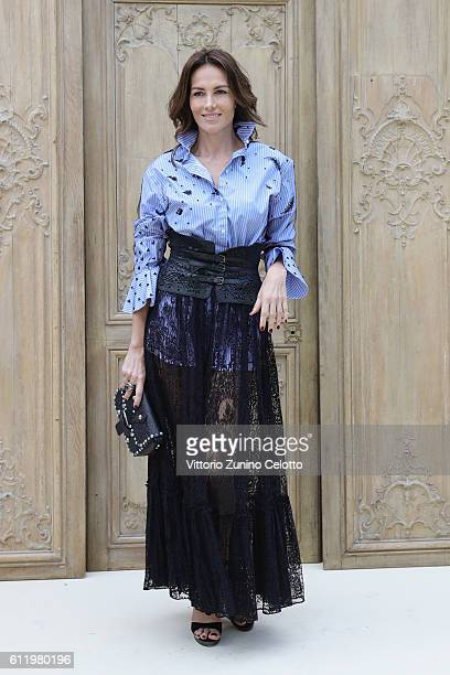 Adriana Abascal attends the Valentino show as part of the Paris Fashion Week Womenswear Spring/Summer 2017 on October 2 2016 in Paris France