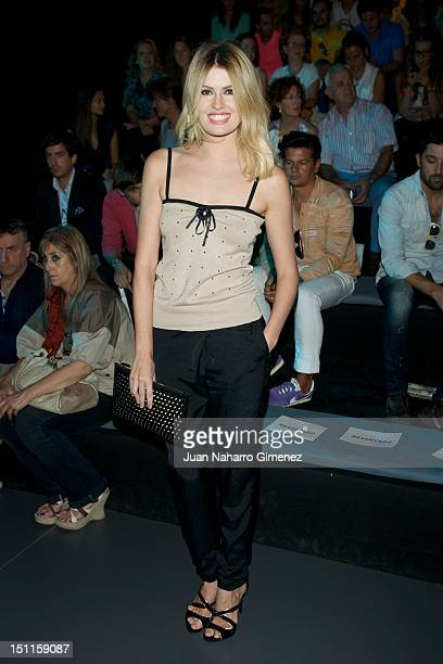 Adriana Abenia attends a fashion show during the Mercedes Benz Madrid Fashion Week Spring/Summer 2013 at Ifema on September 2 2012 in Madrid Spain