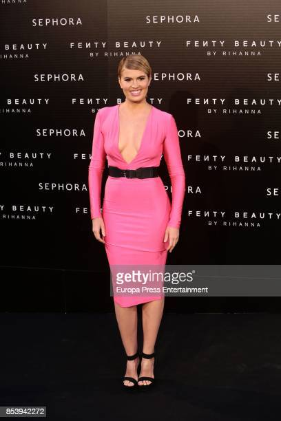 Adriana Abenia attends Fenty Beauty by Rihanna Launch on September 23 2017 in Madrid Spain