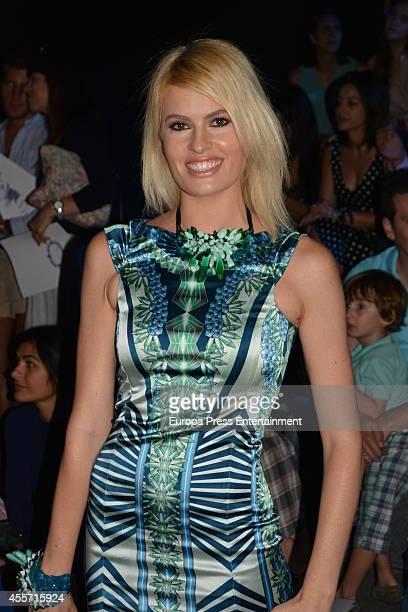 Adriana Abenia attends Mercedes Benz Fashion Week Madrid at Ifema on September 13 2014 in Madrid Spain